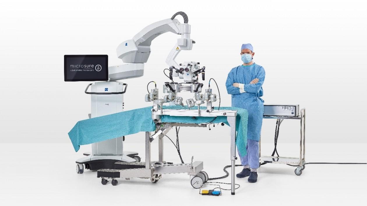 MUSA, een nieuwe robot voor microchirurgie