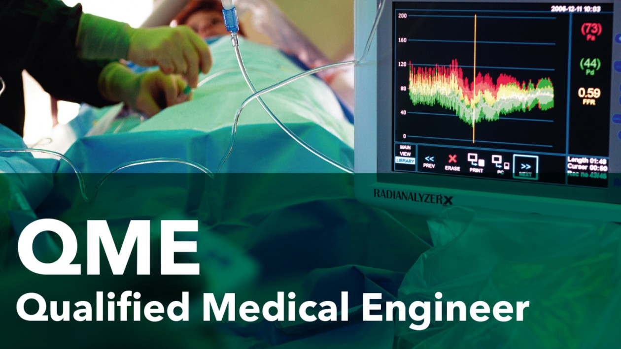 Vacature: Qualified Medical Engineer (QME) in opleiding
