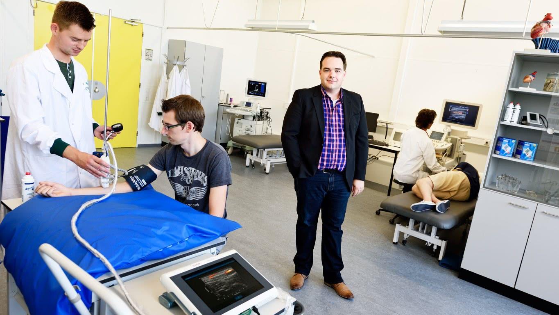 Een nieuw geluid in het ziekenhuis – interview met Richard Lopata