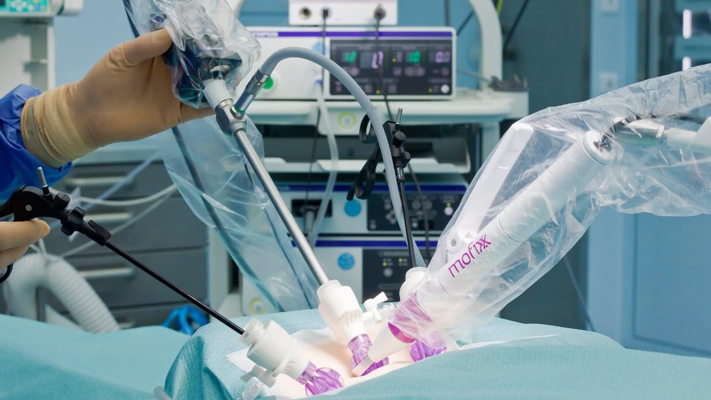 Innovatieve endoscopiecamerahouder in gebruik bij UMC Utrecht