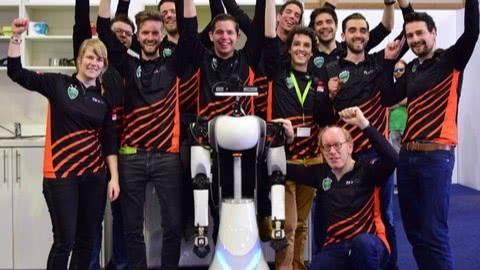 Tweede plaats op RoboCup German Open met zorgrobot AMIGO