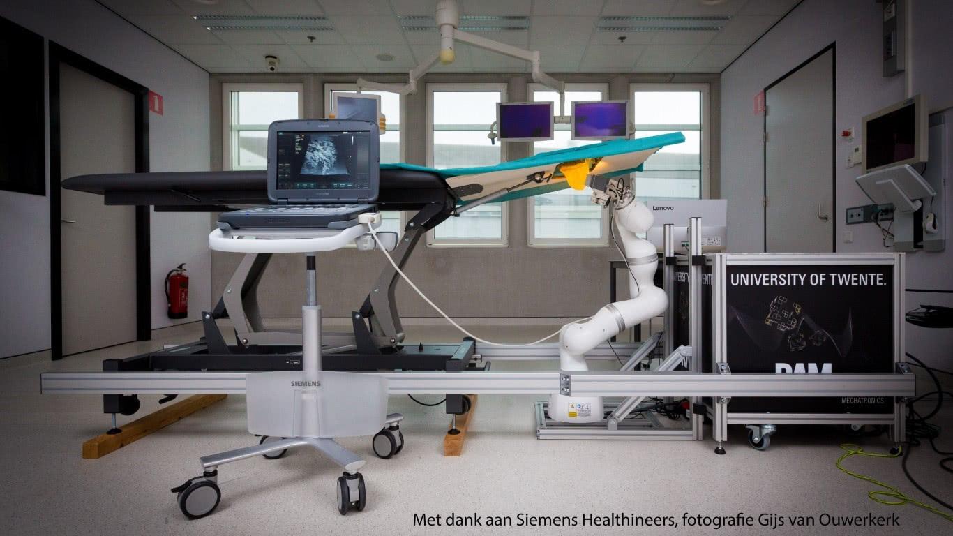 Robots voor borstbiopsie