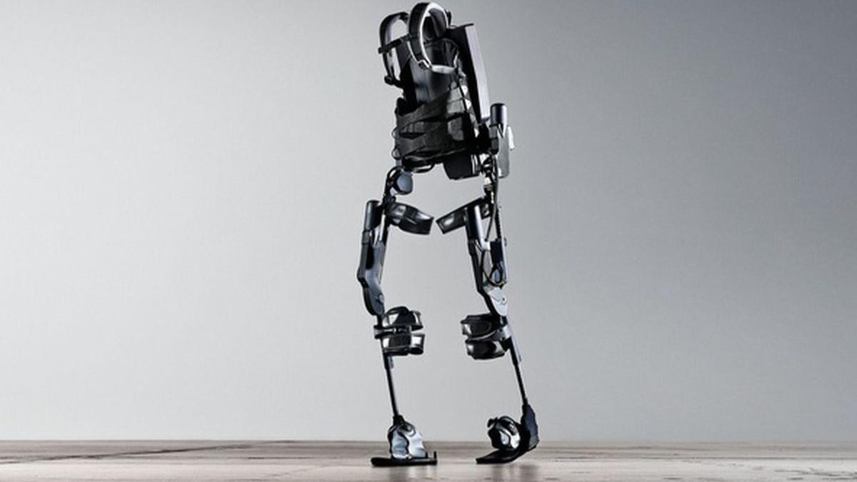 Looptraining in exoskelet voor patiënten UMCG