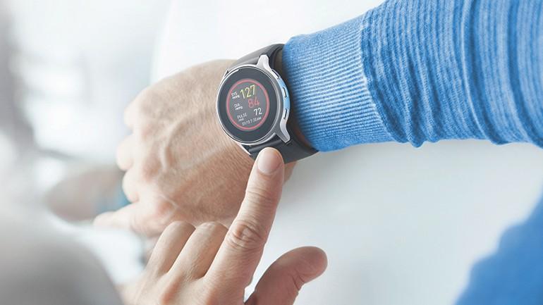 Echte bloeddrukmeter in horlogeformaat