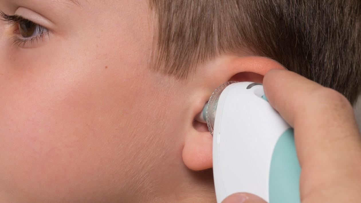 Thermo-meten aan oorthermometers